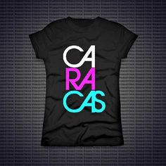Franelas TYPOS. Hecho en Venezuela. Piezas limitadas en Colectivo Artístico KREARTE. Caracas-Venezuela. @Tienda_Krearte Design Trends, Cricut, T Shirts For Women, Outfits, Fashion, Women's T Shirts, Templates, Home, Creative Things
