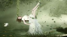 bride swing over a lake - Google Search