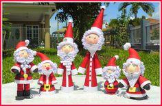 ecstatic over paper: Santa Claus