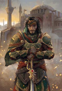 Yusuf Tazim in Ishak Pasha armor by sunsetagain on DeviantArt