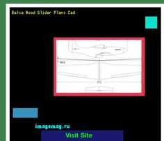 Balsa Wood Glider Plans Cad 190926 - The Best Image Search