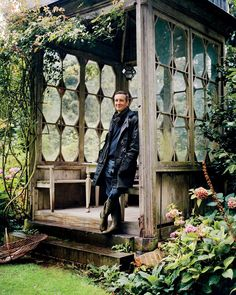 Go inside fashion designer Dries Van Noten's Belgian home and stunning gardens