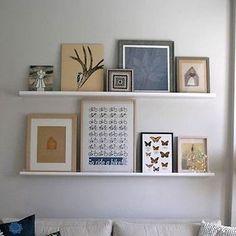 ikea ribba picture ledge ikea picture shelves pinterest ikea ribba picture ledge and. Black Bedroom Furniture Sets. Home Design Ideas
