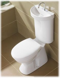 toilet with sink on top nz - Google Search