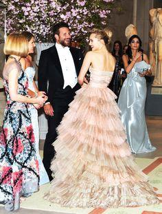 Anna Wintour, Aerin Lauder, Bradley Cooper  Suki Waterhouse