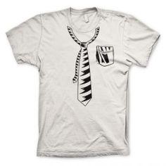 Camiseta Gravata Bolso