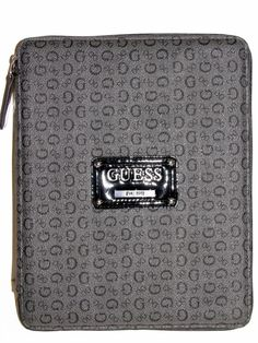 """GUESS PROPOSAL TABLET CASE COLOR """"COAL"""" in Clothing, Shoes & Accessories, Women's Accessories, Organizers & Day Planners 