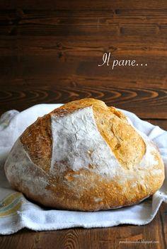 Pane, burro e alici: Pane con lecitina di soia cotto con partenza a fre...