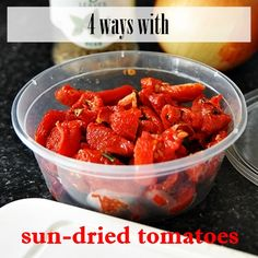 It's semi sun-dried tomatoes, to be exact. I have gone through a phase where I've added semi sun-dried tomatoes into everything! I liked that they have a longer shelf life than fresh tomatoes, less watery than tomatoes and more intense in flavour than tomatoes. Because of these fantastic qualities of semi sun dried tomatoes, they …