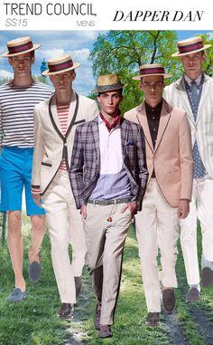 Trend Council * Spring-Summer 2015 ~ Men's fashion