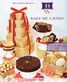 Bake Me A Wish Catalog Offers Gourmet Birthday Cakes Special Occasion And Bakery Gifts Delivered Overnight Nationwide With Coupon Code Savings