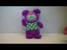 """2010 Sing-a-ma-jigs """"Oh My Darling, Clementine"""" Purple Plush By Fisher P..."""