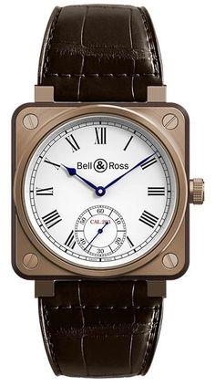 Bell & Ross BR01-CM-203 Marine BR 01 Instrument de Marine. #bellross