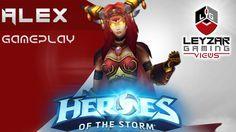 Heroes of the Storm (Gameplay) - Alexstrasza E Build (HotS Alexstrasza G...