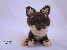 Perro. Dog. Amigurumi. Manualicraft - Amigurumi, scrap y costura creativa