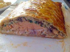 Feuilleté crémeux au saumon et poireaux thermomix. Une recette croustillante de Feuilleté crémeux au saumon et poireaux, facile et rapide