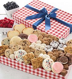 Summer Bakery Assortment | Summer Gifts | Cheryls.com | The perfect gift for your summer picnic or get-together. We've designed a yummy assortment of gourmet cookies and brownies!