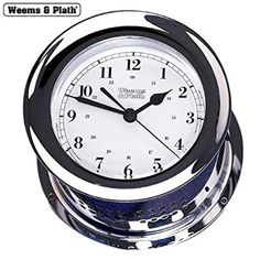Stag Head Style Chrome Alarm Clock Desktop Stag Hunting GIft