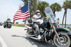 Bikers honor veterans with Earl's Memorial Day Ride-in - w/photos