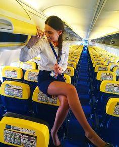 Flight Attendant Hot, Flight Girls, Cool Tights, Romanian Girls, Female Pilot, Hot Cheerleaders, Beautiful Legs, Beautiful Clothes, Simply Beautiful