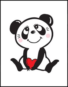 """Rune Naito, Panda. It makes me want to say """"Happy Valentines"""", ha, although it's only August."""