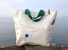 Big Sail Bag*Sailcloth Bag*Sailbag*Sail*Bag*Tote* from RoughElement by DaWanda.com