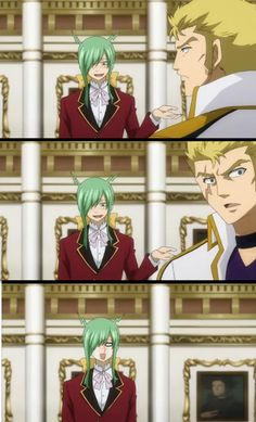 Virgo // That one time when Freed asked Laxus to dance and...