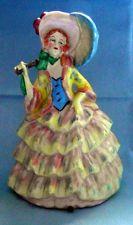 VINTAGE ~ ART DECO ~ CERAMIC ~ CRINOLINE LADY FIGURINE ~ c1935