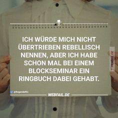 Ich bin so ein Rebell! | Webfail - Fail Bilder und Fail Videos
