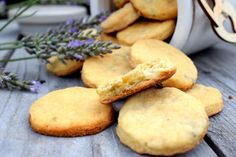 levandula Food And Drink, Cookies, Crack Crackers, Biscuits, Cookie Recipes, Cookie, Biscuit