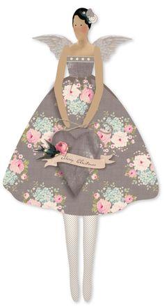 Tilda Winter Memories Vintage Doll Angel Kit