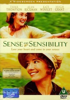 Sense & Sensibility <3 <3 <3. Oh, Alan Rickman was great in this one, too! And as much as I didn't like Marianne in the book, Kate Winslet did such a fantastic job in making her likable.