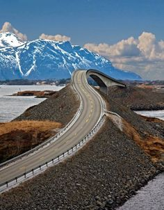 The Atlantic Road Norway