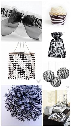 Decorations on pinterest zebra wedding zebra print and red black