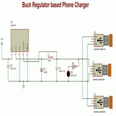 Buck Regulator based Phone Charger Circuit Design