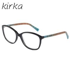 Kirka Cute Color Young Women Eyeglasses Frame Optical Glasses Eyeglass Frames Brand Female Clear Lens Glasses Frame