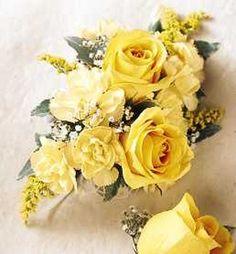 wedding boutonniere, corsage $49 / set at florist