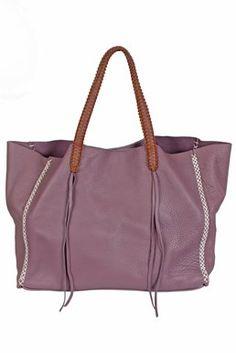 CALLISTA CRAFTS - Lattice Mauve Pale Tote Bag