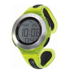 You run like a girl. Keep it up. Soleus Swift Watch. $55 #Soleus #Fitness #Watch #Lime