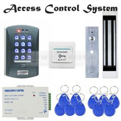 76.78$  Buy now - http://alifdr.worldwells.pw/go.php?t=1990945862 - DIYSECUR Magnetic Lock 125KHz RFID ID Card Reader Password Keypad Access Control System Security Kit Door Bell Button V2000-C