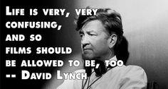 Film Director Quotes - David Lynch - Movie Director #davidlynch #lynch