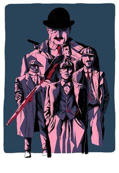 The Peaky Blinders, by Peter Heinrisch