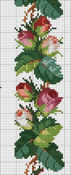Thrilling Designing Your Own Cross Stitch Embroidery Patterns Ideas. Exhilarating Designing Your Own Cross Stitch Embroidery Patterns Ideas. Cross Stitch Borders, Cross Stitch Rose, Cross Stitch Flowers, Cross Stitch Charts, Cross Stitch Designs, Cross Stitching, Cross Stitch Patterns, Rose Embroidery, Hand Embroidery Designs