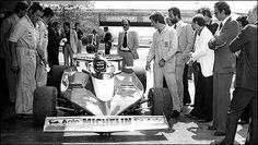 Premiers essais de la Ferrari 312 T3 à Fiorano. (Photo: Ferrari)