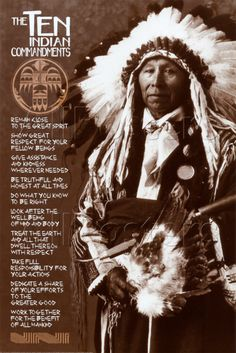 A pity Obama isn't from Native American roots, and Muslim, a lot to be learnt from such a strong noble race.