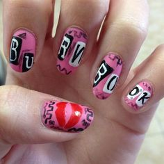 Burn book nails = more awesome