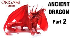Origami Ancient Dragon Tutorial (Satoshi Kamiya) - Part 2 折り紙 ドラゴン оригами учебник Древний дракон: Cómo hacer un Ancient Dragon en Origami (Parte 2) Diseñado por Satoshi Kamiya  ========================================   Nivel de dificultad: avanzado (complex)  Papel recomendado: doble seda: 70cm x  70cm                                             Una seda: 50cm x 50cm  Website: http://ift.tt/2dVCdlI Instagram: http://ift.tt/2e9Aq7U Flickr:  http://ift.tt/2dVCeGi…