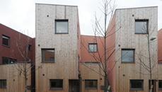 Affordable housing development at Effra Road, Brixton by Inglis Badrashi Loddo Architects