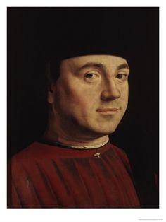 Portrait of a Man by Antonello da Messina