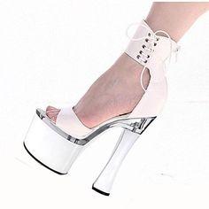 sandálias plataforma sapatos de salto carretel sapatos femininos - BRL R$ 273,57